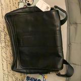 Coach Accessories   Black Table Small Laptop Briefcase   Color: Black   Size: Os