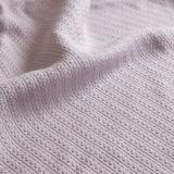 Liquid Cotton Blanket, King, Lilac