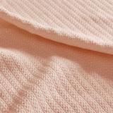 Liquid Cotton Blanket, King, Blush