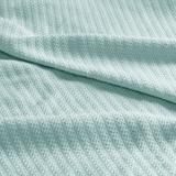 Liquid Cotton Blanket, Twin, Seafoam