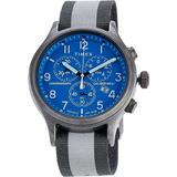 Allied Chronograph Watch - Blue - Timex Watches
