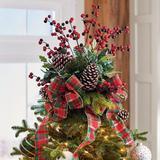 Christmas Remington Tree Topper - Grandin Road