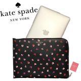 Kate Spade Accessories   Kate Spade Staci Black Floral Zip 15 Laptop Case   Color: Black   Size: Os