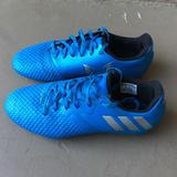 Adidas Shoes | Boys Adidas Messi 16.3 Soccer Cleats Size 5.5 | Color: Blue/Orange | Size: 5.5b