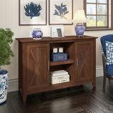 Bush Furniture Key West 2 - Door Accent Cabinet Wood in Brown, Size 30.0 H x 46.0 W x 16.0 D in | Wayfair KWS146BC-03
