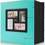 chiloyal Photo Album 4X6 500 Pockets Photos, Extra Large Capacity Family Wedding Picture Albums Holds 500 Horizontal & Vertical Photos (500Pockets