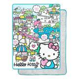 Northwest Hello Kitty - My Cute World Throw, Size 80.0 H x 60.0 W in   Wayfair 1SAN295000002RET