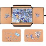 Polar 1000 Pieces Jigsaw Puzzle Board Portable, Stowaway Puzzles Board Caddy, Jigsaw Puzzle Case, Puzzle Accessories Puzzle Storage Case Saver