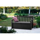 Red Barrel Studio® 70 Gallon Storage Bench Deck Box For Patio Furniture in Gray, Size 32.8 H x 54.6 W x 23.4 D in | Wayfair