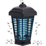 ZLI Bug Zapper Outdoor Mosquito Trap Fly Killer, 4200V Electric Insect Lamp Catcher Powerful For Flies Waterproof - Electronic Light Bulb For Garden