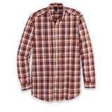 Men's Wrangler Blue Ridge Long-Sleeve Easy-Care Shirt, Red/Brick M