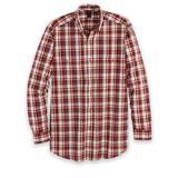 Men's Wrangler Blue Ridge Long-Sleeve Easy-Care Shirt, Red/Brick 2XL