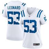 Darius Leonard White Indianapolis Colts Game Player Jersey - White - Nike Tops