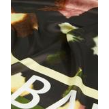 Watercolour Print Silk Square Scarf - Black - Ted Baker Scarves