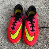 Nike Shoes   Nike Indoor Soccer Cleats Kids   Color: Red/Yellow   Size: 3b