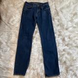 American Eagle Outfitters Jeans | American Eagle Flex Fit Original Straight 28*34 | Color: Blue | Size: 28