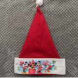 Disney Accessories | Disney Christmas Santa Hat | Color: Red/White | Size: Osb