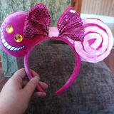 Disney Accessories   Chesire Cat Headband   Color: Pink   Size: Os