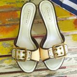 Coach Shoes   Authentic Coach Sandals Size 5   Color: Cream/White   Size: 5