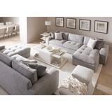 Bernhardt Arnette Floor Shelf End Table w/ Storage Wood in Brown/White, Size 25.0 H x 22.0 W x 29.5 D in   Wayfair 400124