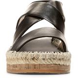 Cloudfeel Espadrille Sandal - Black - Cole Haan Heels