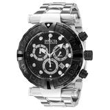 #1 LIMITED EDITION - Invicta Subaqua Quartz Mens Watch - 55mm Stainless Steel Case Stainless Steel Band Steel (32629)