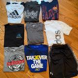 Adidas Shirts & Tops | Lot Of Adidas, Uber Armour , Quicksilver Boys | Color: Black/Blue/Gray/Silver | Size: 14g