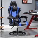 Delant Gaming Chair Office Chair High Back Computer Chair Leather Desk Chair Racing Executive Ergonomic Adjustable Swivel Task Chair w/ Headrest