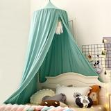 tarye Decor Canopy For Bed, Soft Smooth Playing Tent Canopy Girls Room Decoration Princess Castle, Dreamy Mosquito Net Bedding in Green | Wayfair