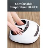WENWENYI 4D Warm Foot Massager in White, Size 15.76 H x 14.97 W x 9.85 D in | Wayfair JZ729T2804