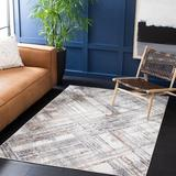17 Stories Cathlino Abstract Ivory/Area Rug Polyester/Polypropylene in Gray, Size 108.0 W x 0.31 D in   Wayfair D6DCEF12DFC3414C80921FC5CB638DC0