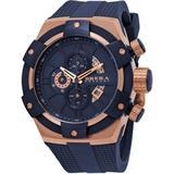 Supersportivo Chronograph Quartz Blue Dial Watch - Blue - Brera Orologi Watches