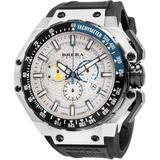 Granturismo Chronograph Quartz Silver Dial Watch - Metallic - Brera Orologi Watches