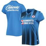 Women's Blue Cruz Azul 2021/22 Replica Home Jersey