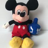 Disney Holiday | Holiday Hanukkah Chanukah Mickey Mouse Dreidel | Color: Black/Blue | Size: 9