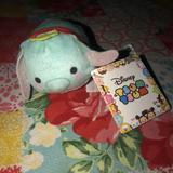 Disney Toys | Disney Tsum Tsum Dumbo Mini Stuffed Toy | Color: Blue/Red | Size: One Size