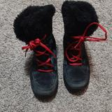 Columbia Shoes | Columbia Snow Boots Black And Pink | Color: Black/Pink | Size: 1g