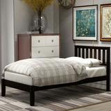 Red Barrel Studio® Wood Platform Bed w/ Headboard/Wood Slat Support,Twin (Espresso) Wood in Brown, Size 36.25 H x 42.0 W x 78.0 D in | Wayfair