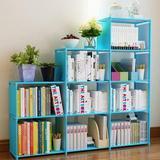 Rebrilliant 9 Cube Storage Organizer Shelves Open Stackable Bookshelf Closet Rack Bookcase Cabinet For Bedroom Living Room Office in Pink | Wayfair
