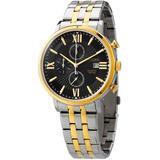 Chronograph Quartz Black Dial Two-tone Watch -75e - Metallic - Citizen Watches