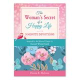 Barbour Books Women's Wellness Books - The Women's Secret of a Happy Life: 3-Minute Devotions Paperback