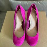 Jessica Simpson Shoes   Pink Suede High Heel Pumps Size 9. Comfy Fit.   Color: Pink   Size: 9