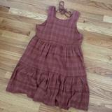 American Eagle Outfitters Dresses | Aeo Babydoll Mini Dress | Color: Orange/Pink | Size: S