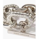 Xl Link Crystal-embellished Metal Bracelet - Metallic - Paco Rabanne Bracelets