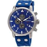 Tornado Chronograph Quartz Blue Dial Watch -wrub - Blue - Brera Orologi Watches
