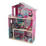 KidKraft Dollhouses Multi - Pink Modern Luxury Dollhouse