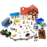 MOVTOTOP Animal Farm Playset Farming Tools Model Farm Animal Figures Toy House Livestock Barn Cow Shed Horse Stable Tractor   Wayfair 8555696-Z0007