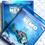 Disney Other | Disney Pixar Finding Nemo Dvd Blu Ray 3 Disc Movie | Color: Blue/Silver | Size: Os
