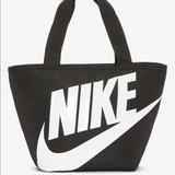 Nike Bags | Nike Swoosh Insulated Lunch Box For School Bag New | Color: Black/White | Size: Os