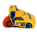 Disney Toys | Disney Pixar Cars 3 Stuffed Reversible Plush | Color: Red/Yellow | Size: Small (6-14 In)